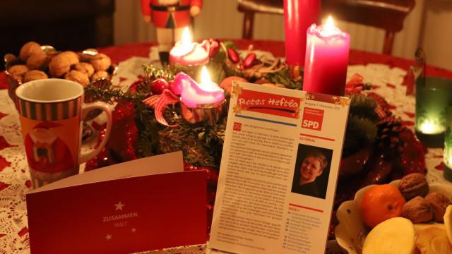 SPD Seukendorf Hiltmannsdorf Rotes Heftla Dezember 2020